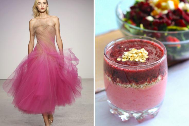 Oscar de la Renta, Springtime Oat Smoothie, Fashionable Food