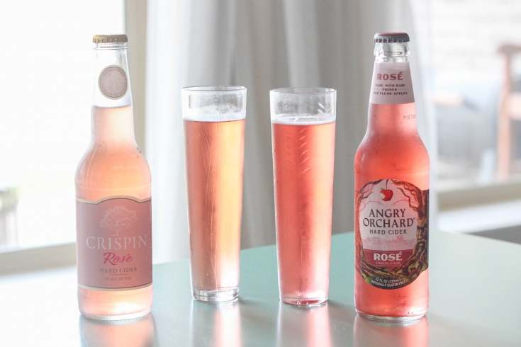 Rosé Cider Wars Crispin versus Angry Orchard 735x490 - Rosé Cider Wars: Crispin versus Angry Orchard
