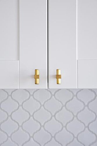 Modern Gold Kitchen Cabinet Knobs - Home & Design: 5 Easy & Affordable Kitchen Upgrades