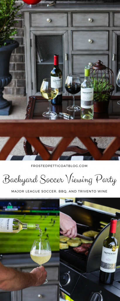 Trivento, Wine, Soccer, Backyard BBQ