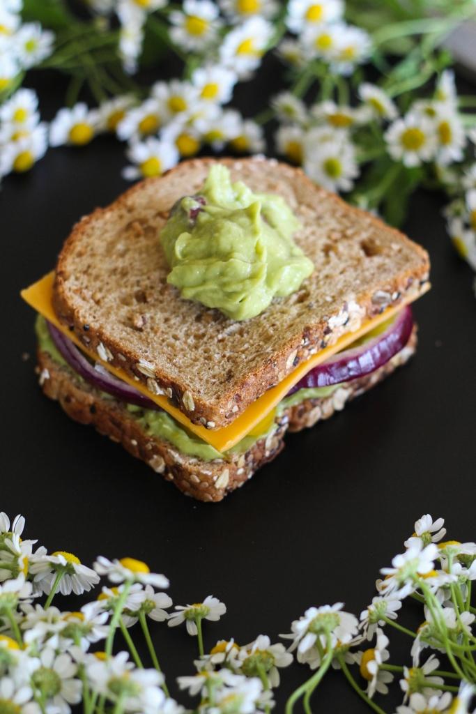 Killer Technicolor Veggie Sandwich tutorial layer 683x1024 - Killer Technicolor Veggie Sandwich