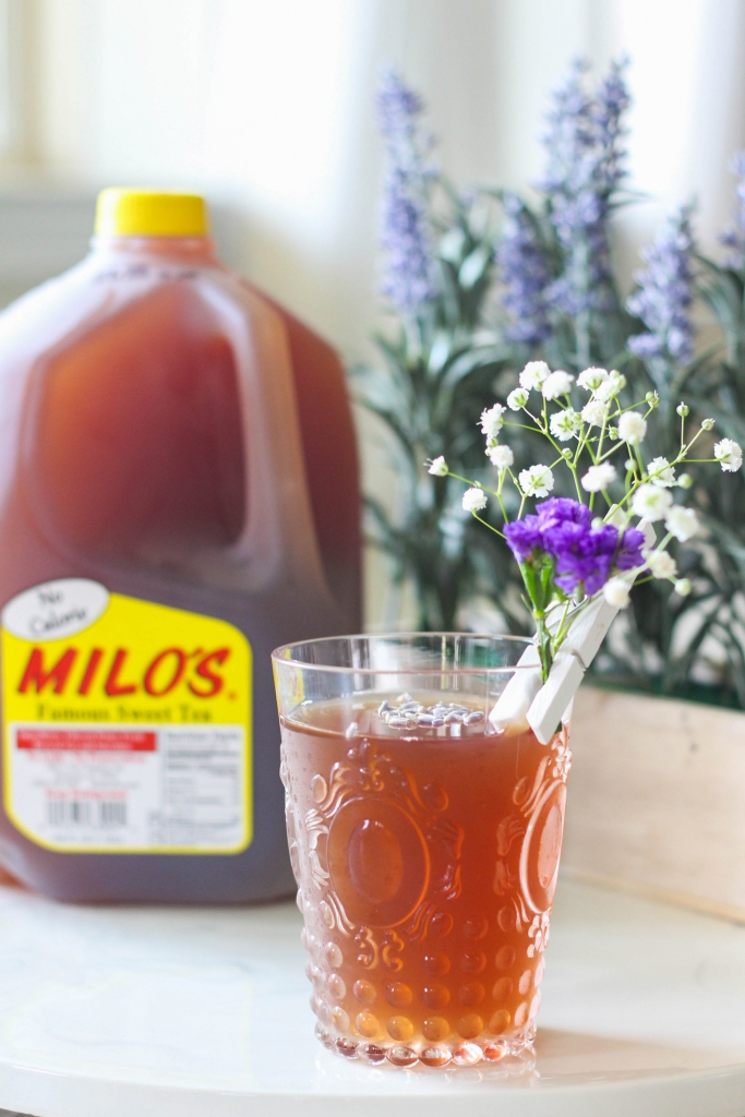 Bourbon Sweet Tea, Milo's Tea, Cocktail