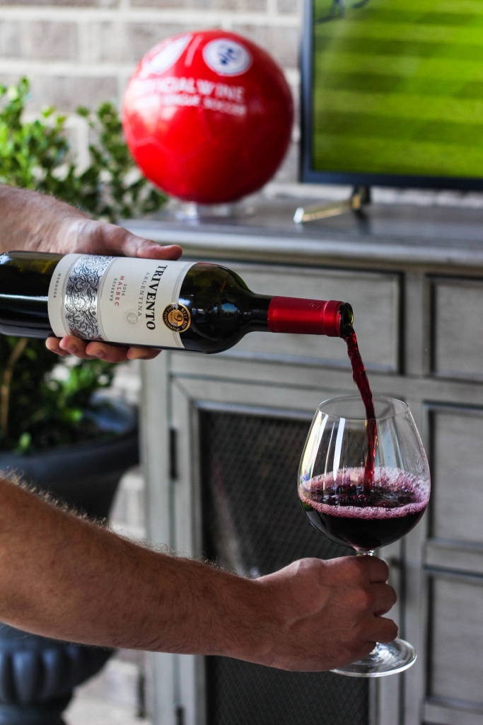 Soccer BBQ and Trivento Wine 1 4 683x1024 - Entertaining: Soccer, BBQ, and Trivento Wine
