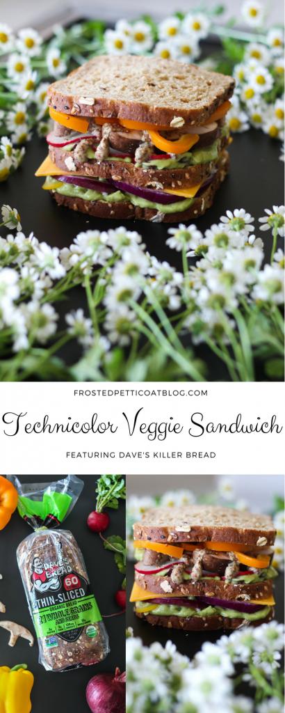 Technicolor Veggie Sandwich Recipe 410x1024 - Killer Technicolor Veggie Sandwich