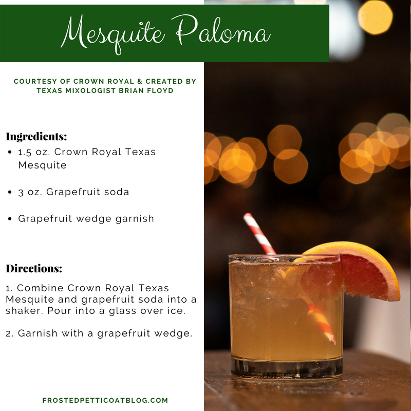 Mesquite Paloma, Crown Royal Texas Mesquite