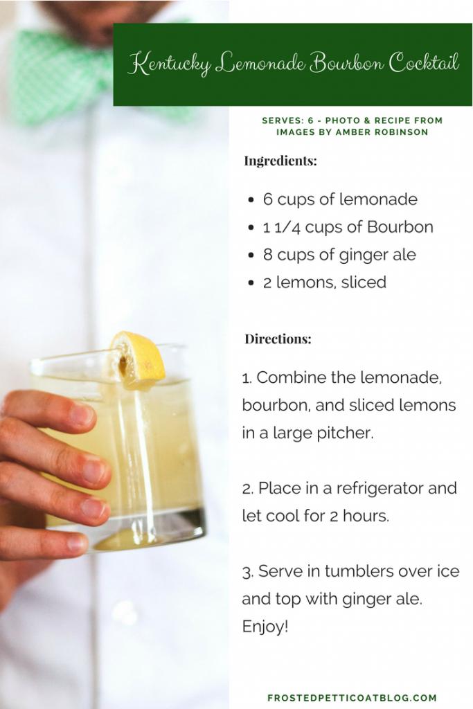 Kentucky Lemonade Bourbon Cocktail