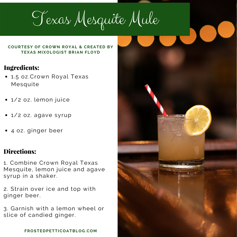 Texas Mesquite Mule, Crown Royal Texas Mesquite