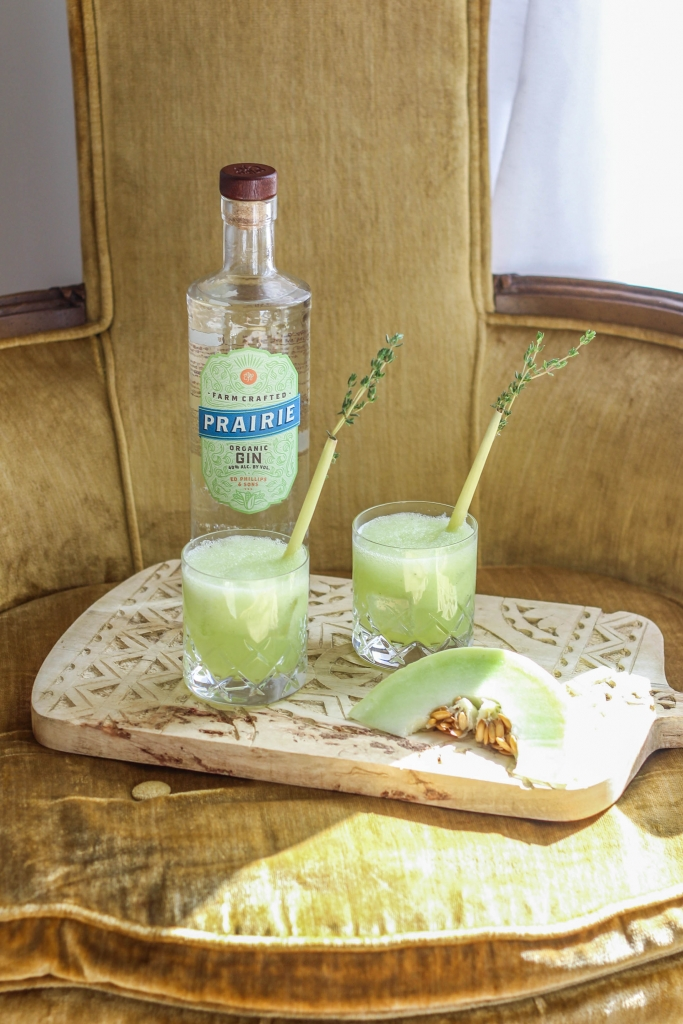 Honeydew Gin Fizz with Prairie Organic Spirits 683x1024 - Honeydew Gin Fizz: A Farm-Crafted Cocktail