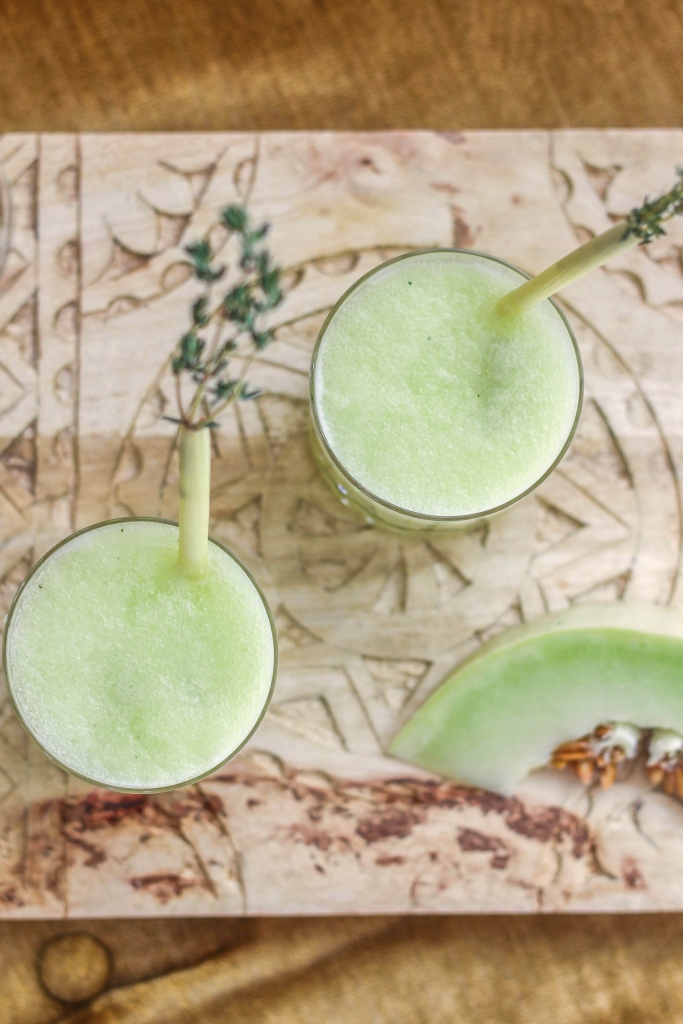 Honeydew Gin Fizz with Prairie Organic Spirits