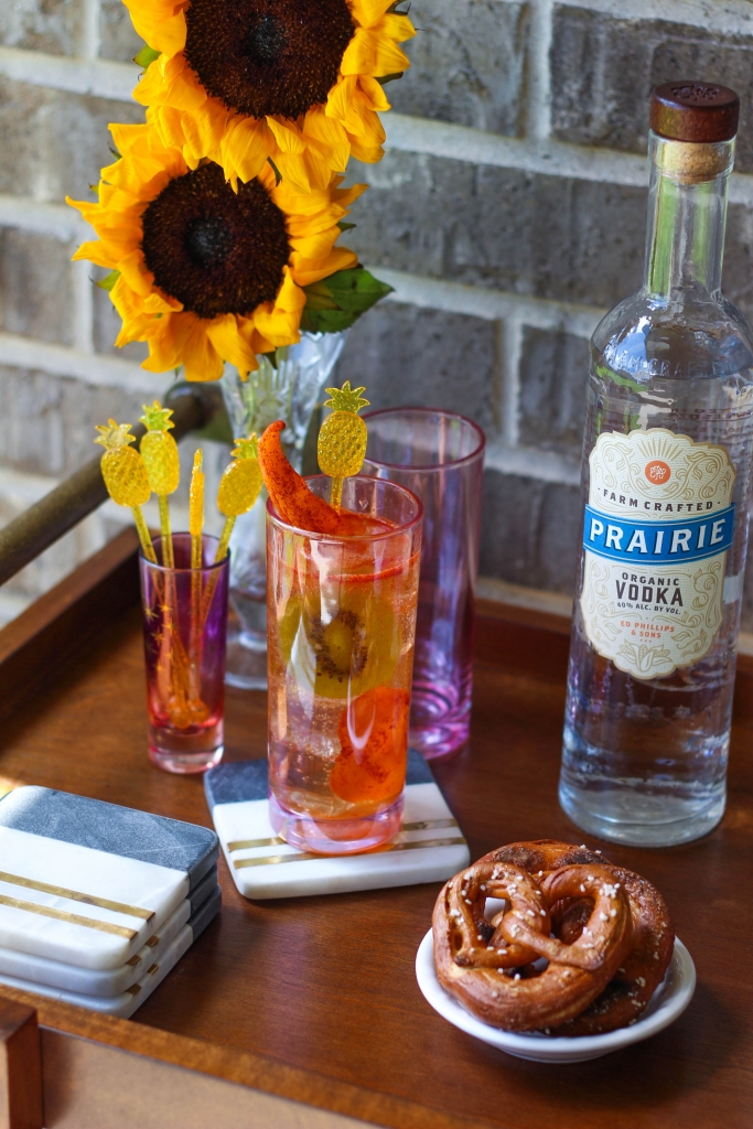 Patio Bar Cart Essentials with Prairie Organic Spirits
