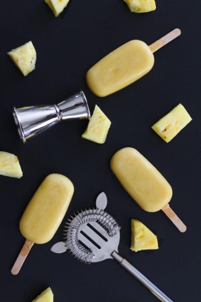 Mango Pina Colada Popsicle featuring Bolthouse Farms juice 683x1024 - Classic Rerun:  Mango Piña Colada Popsicles