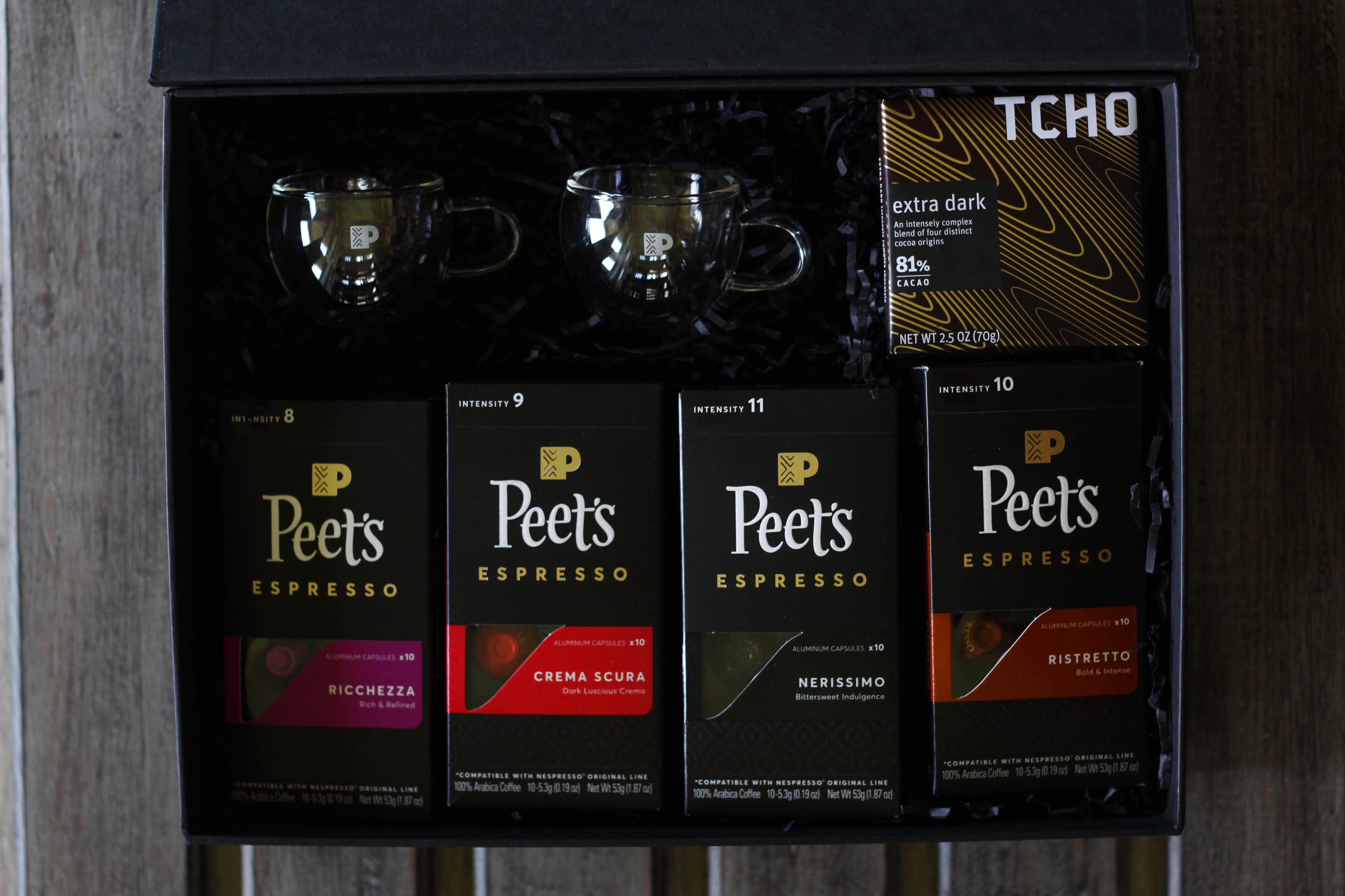 Peets Espresso Capsules for Nespresso Coffee Bar 18 - Caffeine Fix with Peet's Espresso