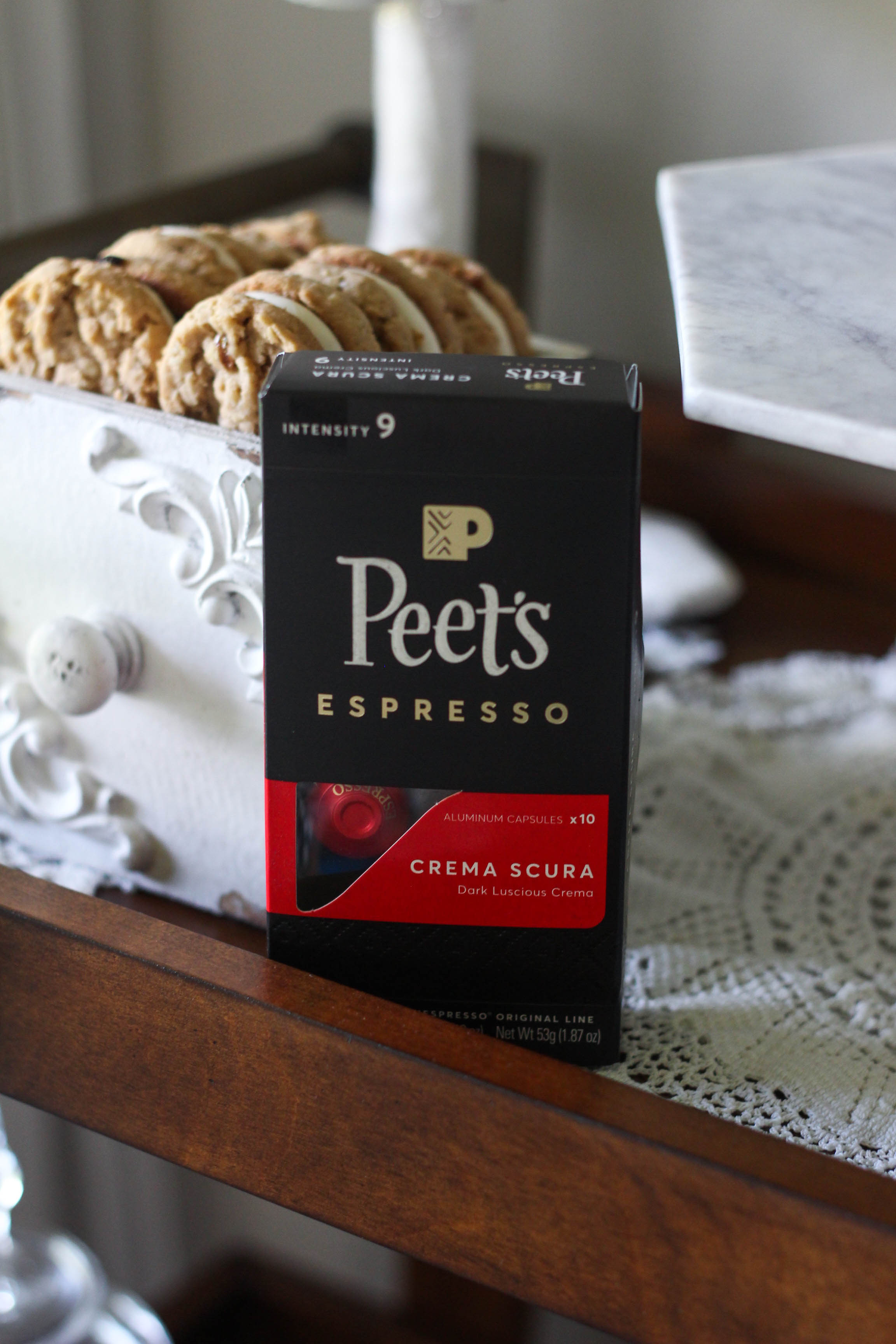 Peets Espresso Capsules for Nespresso Coffee Bar 3 - Caffeine Fix with Peet's Espresso