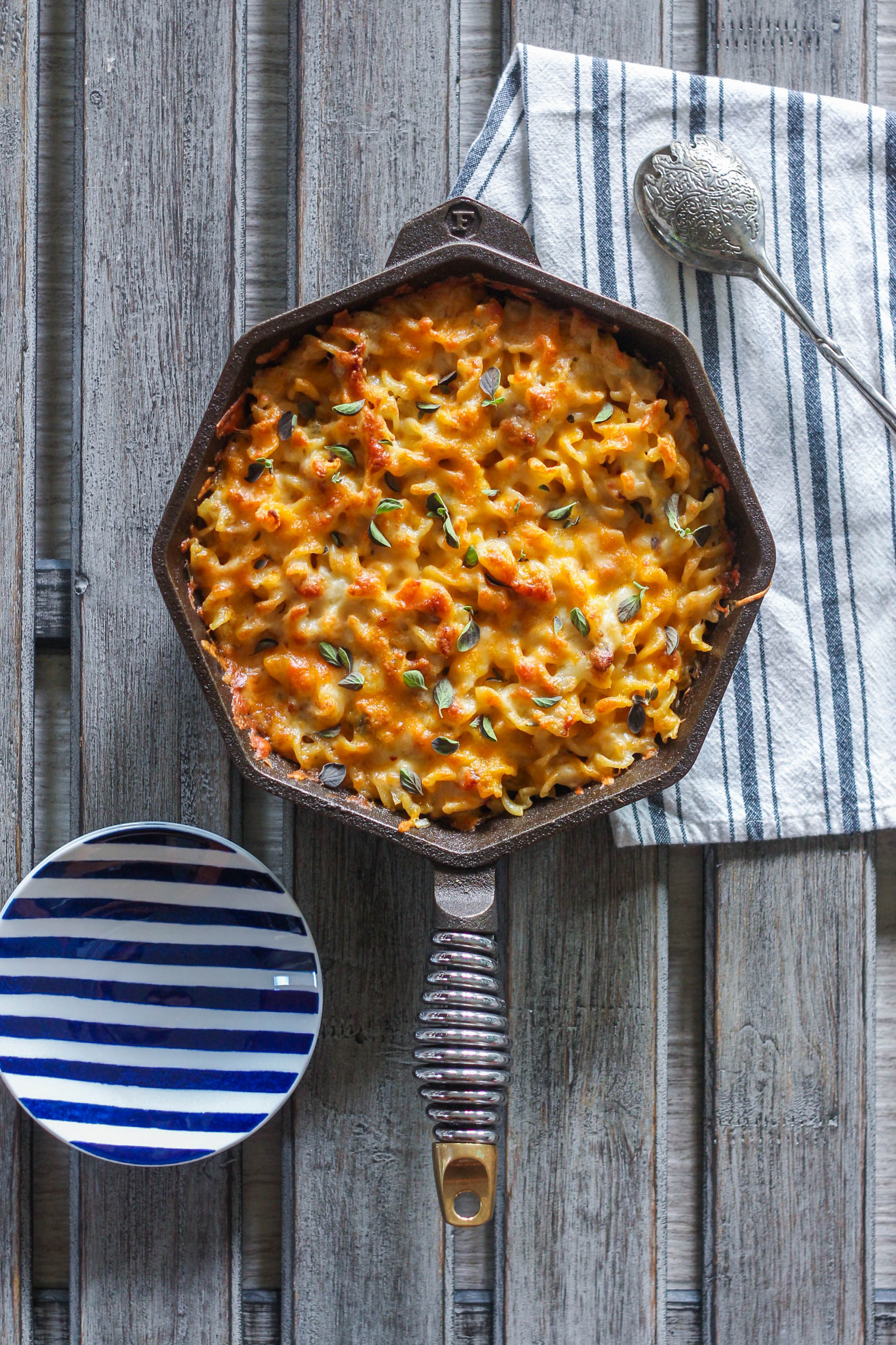 Simple Skillet Rotini Mac Cheese 13 - Simple Skillet Rotini Mac & Cheese
