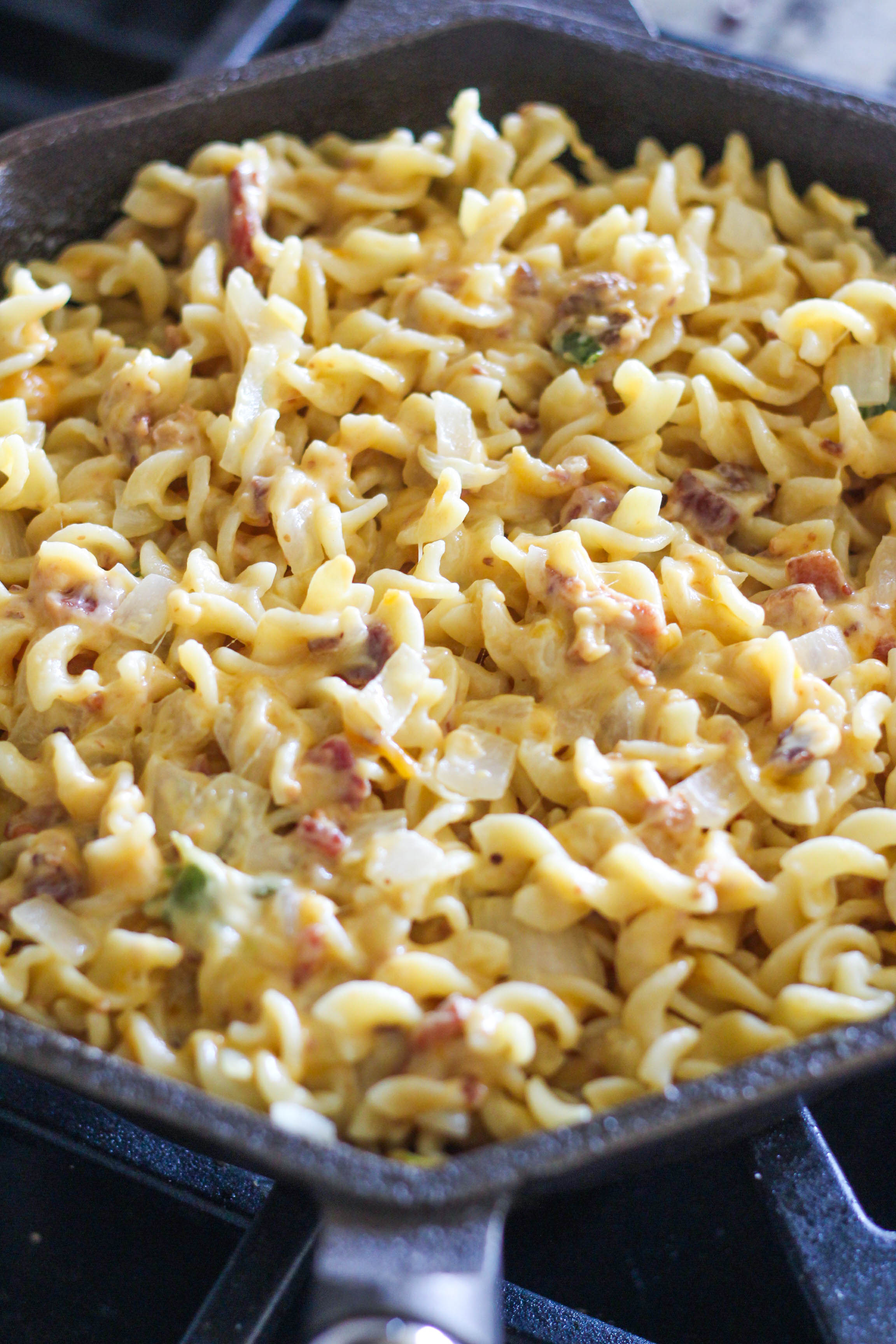 Simple Skillet Rotini Mac Cheese 6 - Simple Skillet Rotini Mac & Cheese