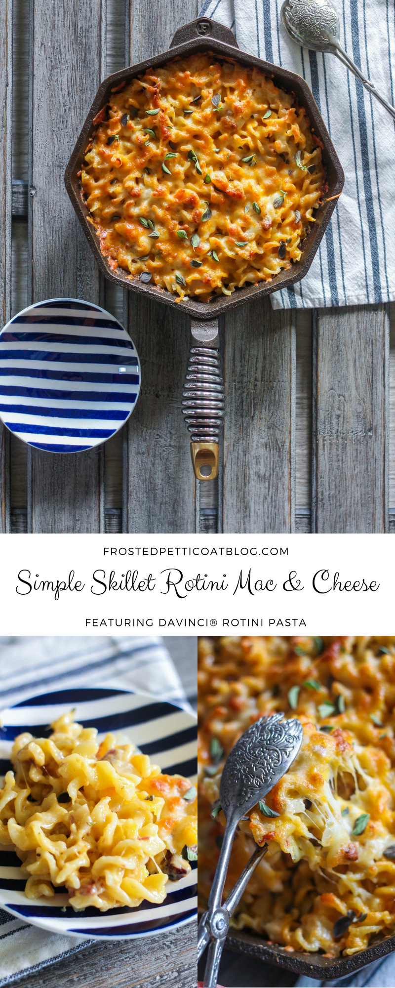 Simple Skillet Rotini Mac Cheese Recipe - Simple Skillet Rotini Mac & Cheese