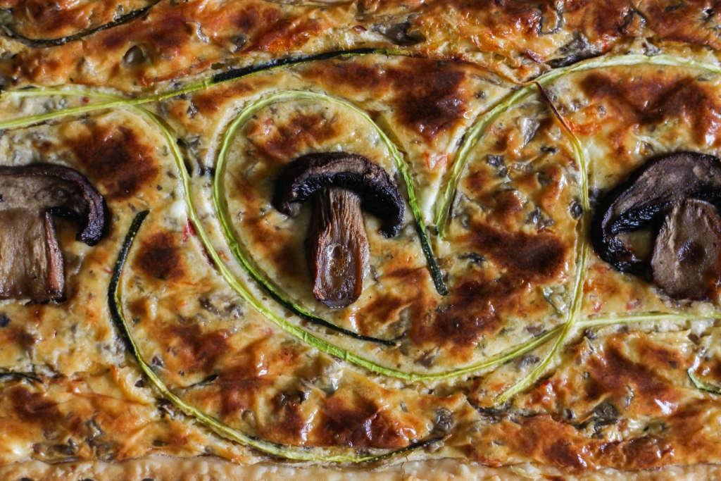 Rustic Tuscan Mushroom Tart 2 1024x683 - Rustic Tuscan Mushroom Tart