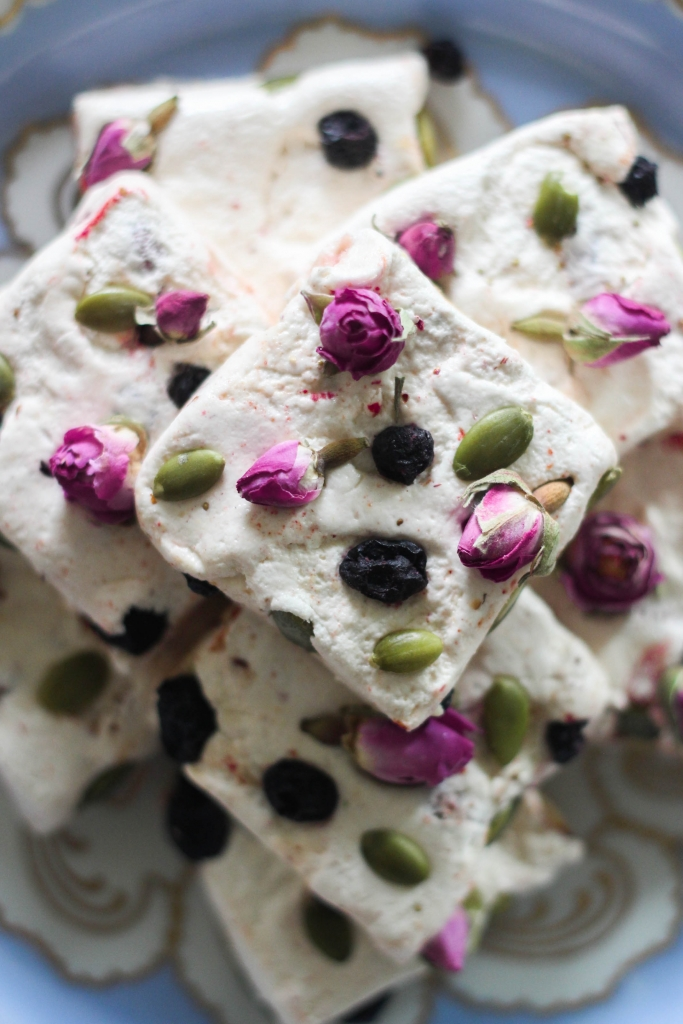Whiskey Rose Nougat for Holiday Gifting